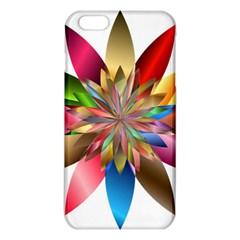 Chromatic Flower Gold Rainbow Iphone 6 Plus/6s Plus Tpu Case by Alisyart