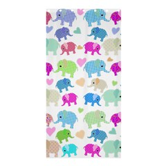 Cute Elephants  Shower Curtain 36  X 72  (stall)  by Valentinaart