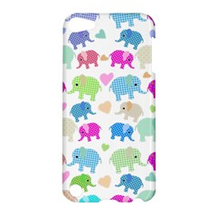 Cute Elephants  Apple Ipod Touch 5 Hardshell Case by Valentinaart