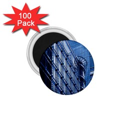 Building Architectural Background 1 75  Magnets (100 Pack)  by Simbadda