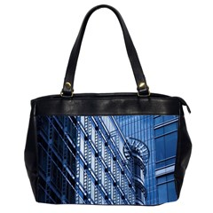 Building Architectural Background Office Handbags (2 Sides)  by Simbadda