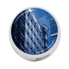 Building Architectural Background 4 Port Usb Hub (two Sides)  by Simbadda