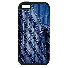 Building Architectural Background Apple Iphone 5 Hardshell Case (pc+silicone)
