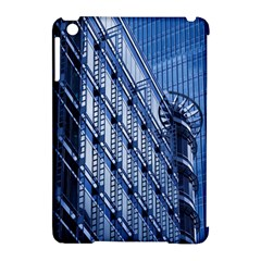 Building Architectural Background Apple Ipad Mini Hardshell Case (compatible With Smart Cover) by Simbadda