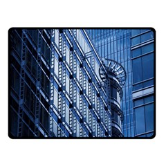 Building Architectural Background Double Sided Fleece Blanket (small)  by Simbadda
