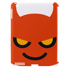 Devil Apple Ipad 3/4 Hardshell Case (compatible With Smart Cover) by Alisyart