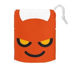 Devil Drawstring Pouches (extra Large) by Alisyart