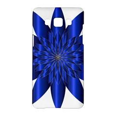 Chromatic Flower Blue Star Samsung Galaxy A5 Hardshell Case  by Alisyart