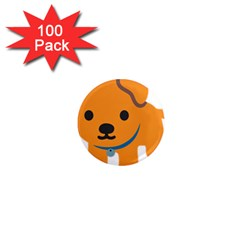Dog 1  Mini Magnets (100 Pack)  by Alisyart