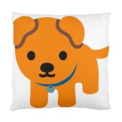 Dog Standard Cushion Case (two Sides) by Alisyart