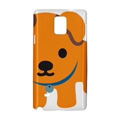 Dog Samsung Galaxy Note 4 Hardshell Case by Alisyart