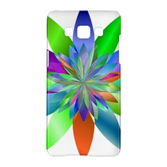 Chromatic Flower Variation Star Rainbow Samsung Galaxy A5 Hardshell Case  by Alisyart