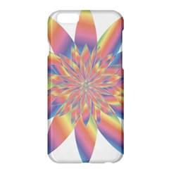Chromatic Flower Gold Rainbow Star Apple Iphone 6 Plus/6s Plus Hardshell Case by Alisyart