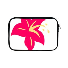 Flower Floral Lily Blossom Red Yellow Apple Ipad Mini Zipper Cases by Alisyart