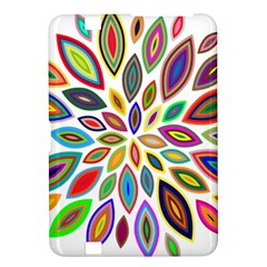 Chromatic Flower Petals Rainbow Kindle Fire Hd 8 9  by Alisyart