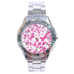 Pattern Stainless Steel Analogue Watch by Valentinaart