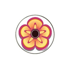 Flower Floral Hole Eye Star Hat Clip Ball Marker (10 Pack) by Alisyart
