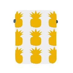 Fruit Pineapple Printable Orange Yellow Apple Ipad 2/3/4 Protective Soft Cases by Alisyart