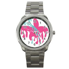 Full Butterfly Sport Metal Watch by Alisyart