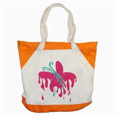 Full Butterfly Accent Tote Bag by Alisyart