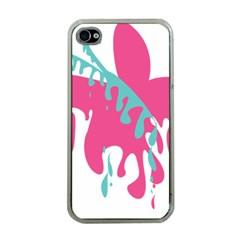 Full Butterfly Apple Iphone 4 Case (clear) by Alisyart