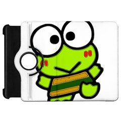 Frog Green Big Eye Face Smile Kindle Fire Hd 7  by Alisyart