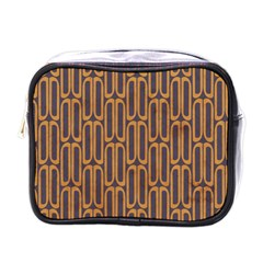 Chains Abstract Seamless Mini Toiletries Bags by Simbadda