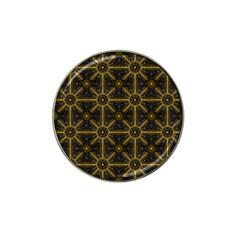 Digitally Created Seamless Pattern Tile Hat Clip Ball Marker (10 Pack) by Simbadda