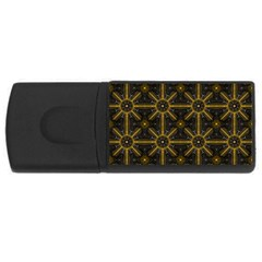 Digitally Created Seamless Pattern Tile Usb Flash Drive Rectangular (4 Gb) by Simbadda