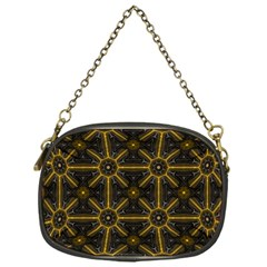 Digitally Created Seamless Pattern Tile Chain Purses (one Side)  by Simbadda
