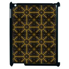 Digitally Created Seamless Pattern Tile Apple Ipad 2 Case (black) by Simbadda