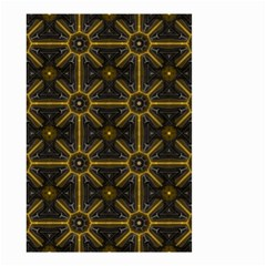 Digitally Created Seamless Pattern Tile Small Garden Flag (two Sides) by Simbadda