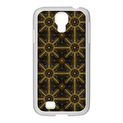 Digitally Created Seamless Pattern Tile Samsung Galaxy S4 I9500/ I9505 Case (white) by Simbadda