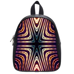 Vibrant Pattern Colorful Seamless Pattern School Bags (small)  by Simbadda