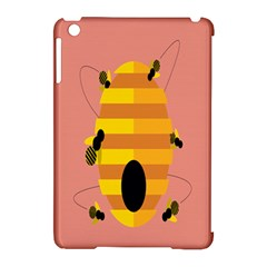 Honeycomb Wasp Apple Ipad Mini Hardshell Case (compatible With Smart Cover) by Alisyart