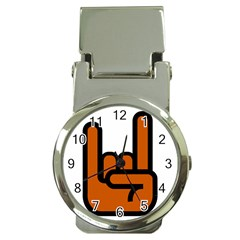 Metal Hand Money Clip Watches by Alisyart
