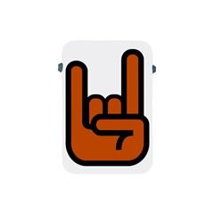 Metal Hand Apple Ipad Mini Protective Soft Cases by Alisyart