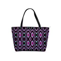 Colorful Seamless Pattern Vibrant Pattern Shoulder Handbags by Simbadda