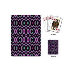 Colorful Seamless Pattern Vibrant Pattern Playing Cards (mini)  by Simbadda