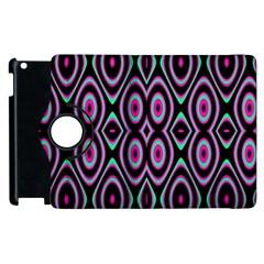 Colorful Seamless Pattern Vibrant Pattern Apple Ipad 2 Flip 360 Case by Simbadda