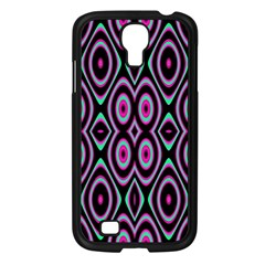 Colorful Seamless Pattern Vibrant Pattern Samsung Galaxy S4 I9500/ I9505 Case (Black)