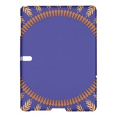 Frame Of Leafs Pattern Background Samsung Galaxy Tab S (10 5 ) Hardshell Case  by Simbadda