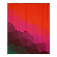 Abstract Elegant Background Pattern Shower Curtain 60  X 72  (medium)  by Simbadda