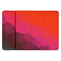 Abstract Elegant Background Pattern Samsung Galaxy Tab 8 9  P7300 Flip Case by Simbadda