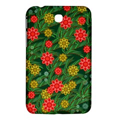 Completely Seamless Tile With Flower Samsung Galaxy Tab 3 (7 ) P3200 Hardshell Case  by Simbadda