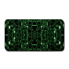 An Overly Large Geometric Representation Of A Circuit Board Medium Bar Mats by Simbadda