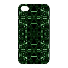 An Overly Large Geometric Representation Of A Circuit Board Apple Iphone 4/4s Hardshell Case by Simbadda