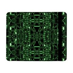An Overly Large Geometric Representation Of A Circuit Board Samsung Galaxy Tab Pro 8 4  Flip Case by Simbadda