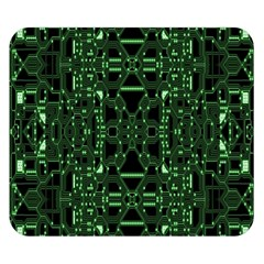 An Overly Large Geometric Representation Of A Circuit Board Double Sided Flano Blanket (small)  by Simbadda