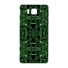 An Overly Large Geometric Representation Of A Circuit Board Samsung Galaxy Alpha Hardshell Back Case by Simbadda